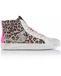 Shoe Biz Copenhagen Shoe Biz Jada Zip Trainer - Leopard - Multicolour