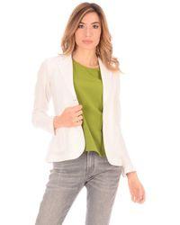 Tonello Jacket Knit Jacket T - White