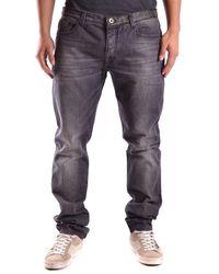 Bikkembergs Jeans Nn096 - Black