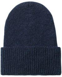 Becksöndergaard Beck Sondergaard Jadia Blue Beanie Hat