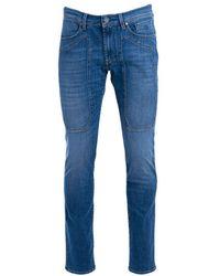 Jeckerson C00upa077d040192d620 Cotton Jeans - Blue