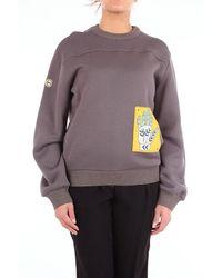 Chloé Chlo㉠Women's Chc18ajh01089grigioscuro Gray Wool Sweatshirt