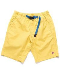 Deus Ex Machina X Gramicci Shorts - Super Lemon - Yellow