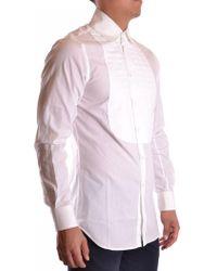 John Galliano - Men's Mcbi130028o White Cotton Shirt - Lyst