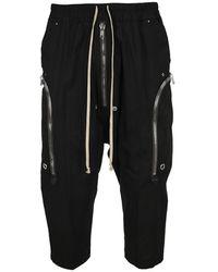 Rick Owens Phlegethon Bela Pants - Black