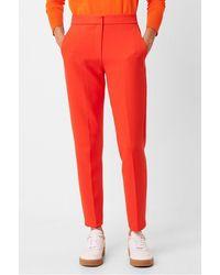French Connection Adisa Sundae Suit Trousers 74naq - Orange