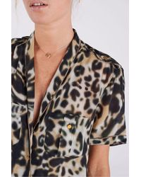 Swildens Clement Animal Print Blouse - Multicolour