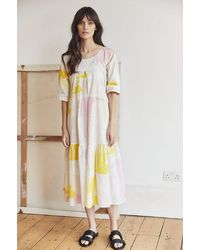 Tallulah & Hope Zoe Pocket Dress Honeyguide - Multicolour