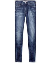 Tommy Hilfiger Sylvia High Rise Jeans , Colour:1bjdarkblue