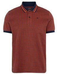 J.Lindeberg J.lindeberg Julian-fine Pique Polo Shirt - Blue