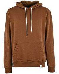 Berna Cotton Sweatshirt - Brown
