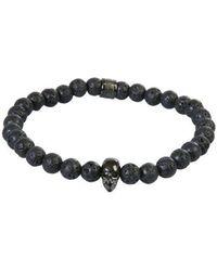 Northskull Men's Stchgm2220lvblack Black Other Materials Bracelet