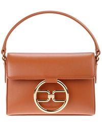 Elisabetta Franchi Bags.. Leather Brown