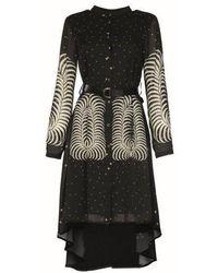 Silvian Heach Chengdu Dress- Fantasy Black- 20579