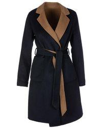 Ralph Lauren Blue Coat Camel