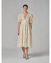 Vivetta Lace Dress - Yellow