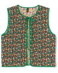 Résumé Gwenrs Vest Reversible - Green