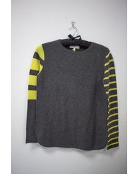 Lisa Todd Pop Stripe Sweater - Gray