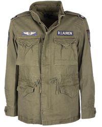 Ralph Lauren Jacket In Green - Brown