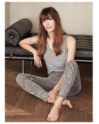 Brockenbow - Brokenbow Women's Diademe Reina Embellished Grey Or Black Jeans - Lyst