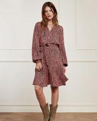 FABIENNE CHAPOT Dorien Frill Short Dress - Multicolour