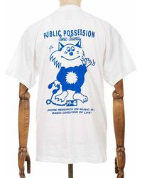 Carhartt Wip X Relevant Parties Public Possession Tee - White