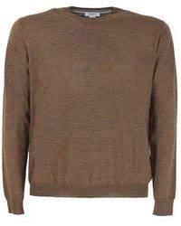 Seventy Cotton Jumper - Brown