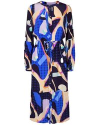 Numph Nucasey Dress - Blue