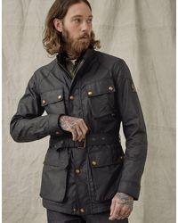 Belstaff Trialmaster Wax Jacket Colour: Black