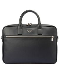 Emporio Armani Business Briefcase - Black