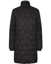 Part Two Olilase Padded Coat - Black