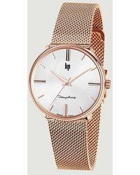 Lip Dauphine 34 Mm Watch - Pink