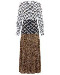 Hayley Menzies - Sienna Silk Midaxi Dress - Lyst
