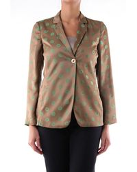Maliparmi Jackets Blazer Women Fancy Mud - Brown