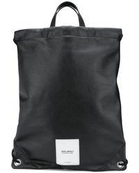 Maison Margiela Zero Impact Backpack Colour: Black