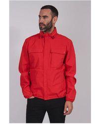 Barbour Mile Jacket Colour: Red