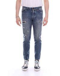 Michael Coal Cotton Jeans - Blue