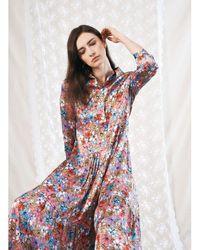 Jessica Russell Flint Shirt Dress Iced S - Multicolour