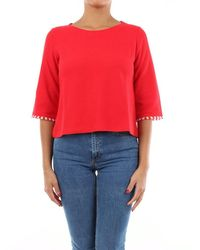 iBlues I Blues Knitwear Crewneck Women Red