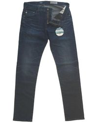 AG Jeans Adriano Goldschmied Dark Wash 'tellis' Jeans 04 Dec Denim - Blue