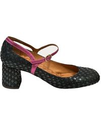 Chie Mihara Popy Shoes - Blue