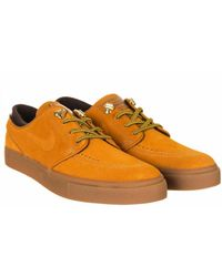 Nike Sb Zoom Stefan Janoski Prm Sneakers - Orange