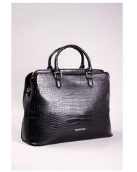 Valentino By Mario Valentino Maio Work Bag Colour: Black