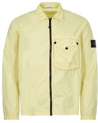 Stone Island Overshirt - Lemon - Yellow