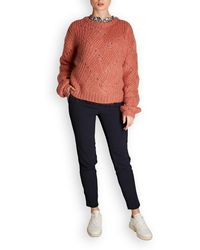 Custommade• Una Knitted Pullover - Pink