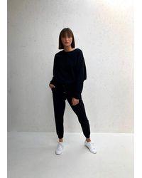 Chalk Lucy Lounge Pant - Black