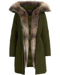 Woolrich Wâ ́s Luxury Boulder Coat Dark Green