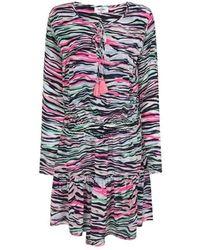 Mercy Delta Langham Zebra Diva Dress - Multicolour
