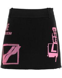 we11done Cotton Skirt - Black