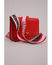 MSGM Cross Body Red Bag